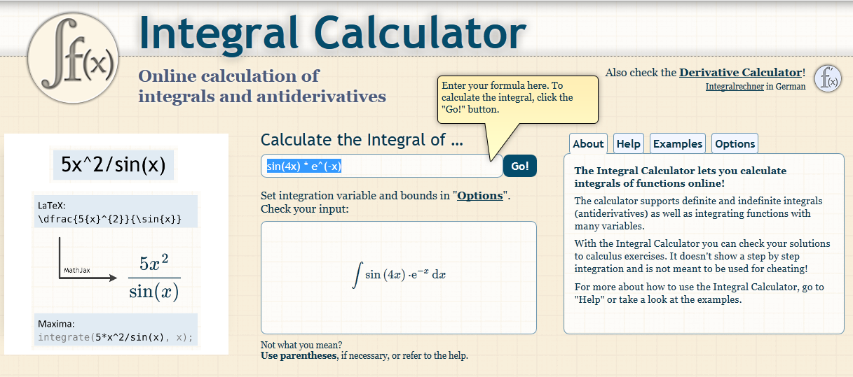 integral calculator1