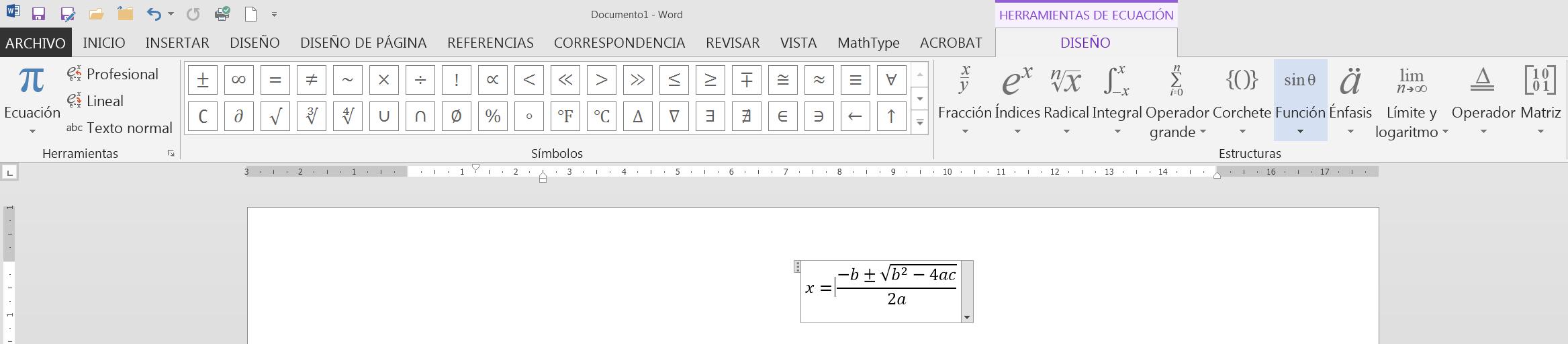 3con14 - Matemáticas - E · Escritura matemática [Fórmulas]